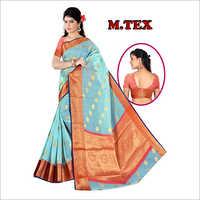 Ladies Chanderi Silk Saree