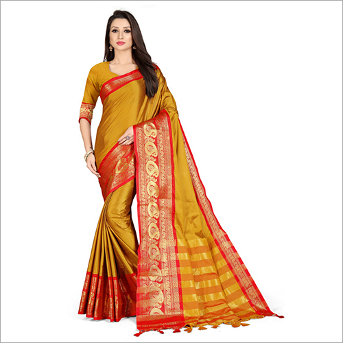 Ladies Kanchipuram Silk Saree