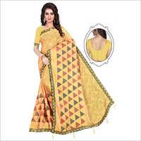 Ladies Traditional Cotton Saree