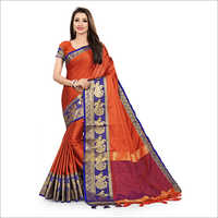 Ladies Simple Silk Saree
