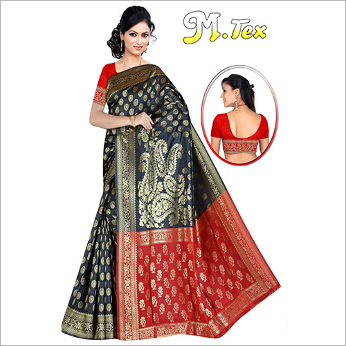Ladies Party Wear Handloom Saree