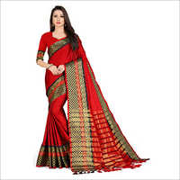Ladies Handloom Simple Saree