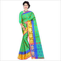 Ladies Traditional Handloom Saree
