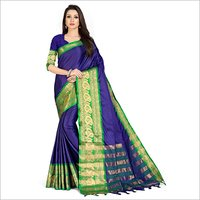 Ladies Party Wear Plain Saree