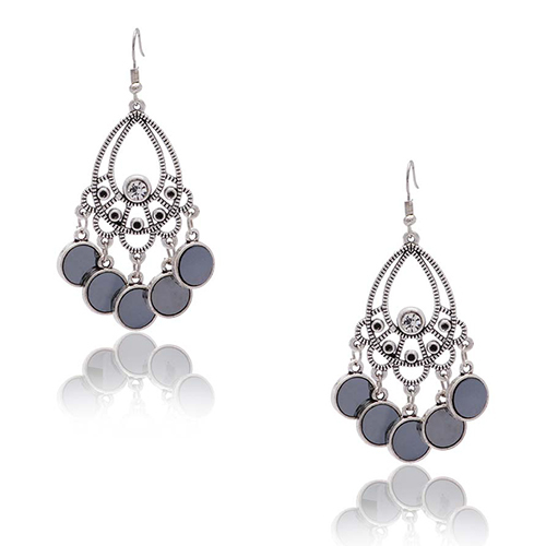 Artificial Silver Plated Earing