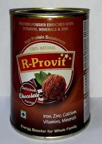 Protein powder With Chocolate Flavor TIN Pack