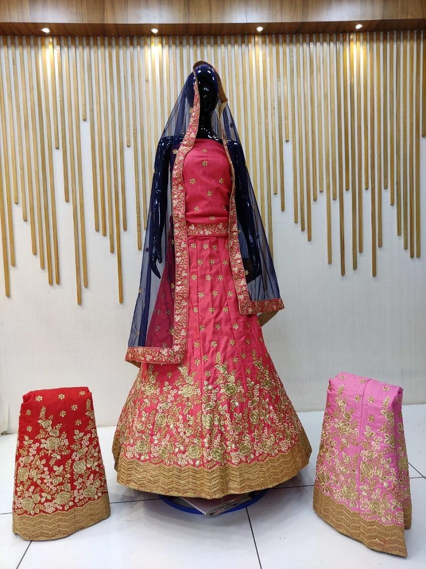 Red Lehnga Choli