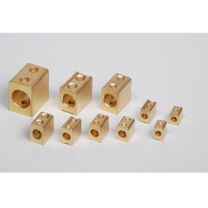 brass fuse connector