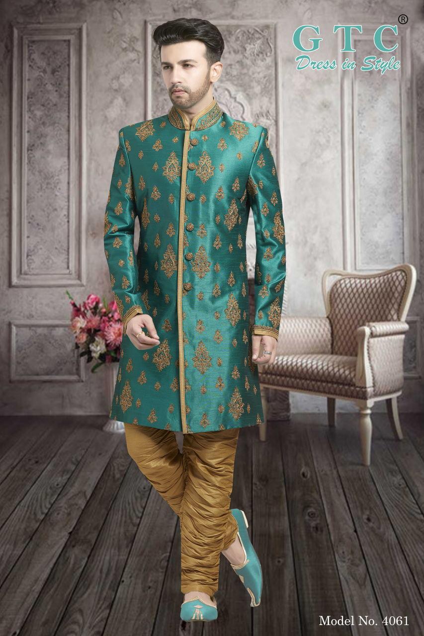 4061 Exclusive & Wedding Sherwani
