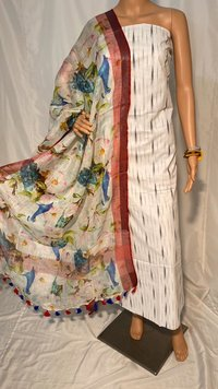 Pure Linen Long Dupatta