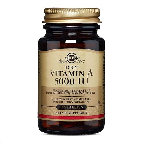 1500 Mcg Vitamin A 100 Tablet