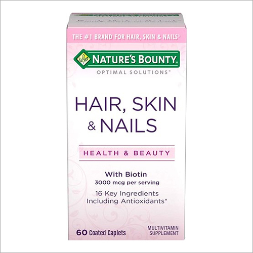 Hair Skin And Nails Formula 60 Coated Caplets