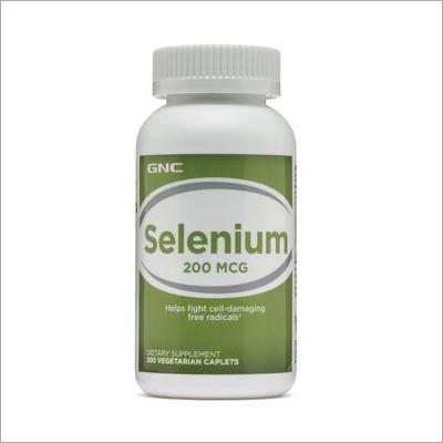 200 Mcg Selenium Caplets
