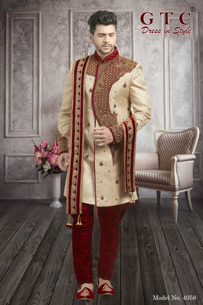 EXCLUSIVE WEDDING SHERWANI