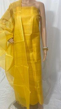Silk Weaved Top 2.5 Mtrs Dupatta