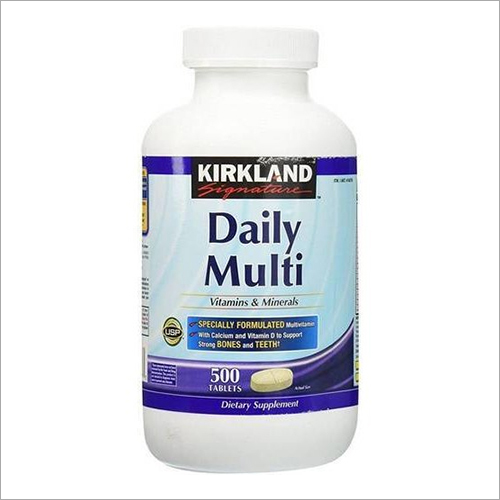 Daily Multi Vitamins And Minerals 500 Tablets