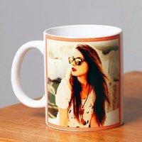 Nimble Customized Photo White Mug.
