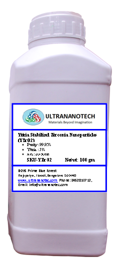 Yttria Stablized Zirconia Nanoparticle