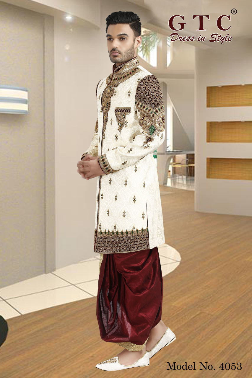 4053 EXCLUSIVE & WEDDING SHERWANI