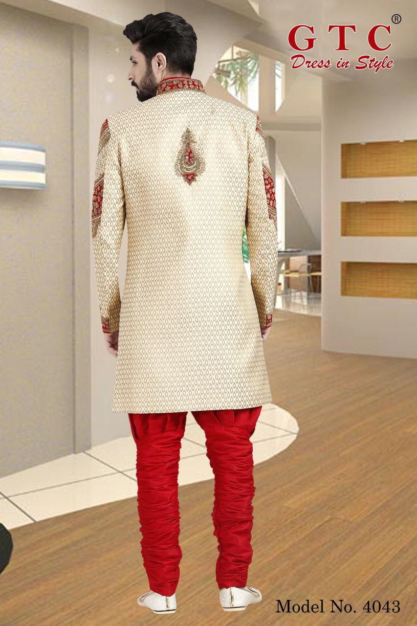 4043 Exclusive & Wedding Sherwani