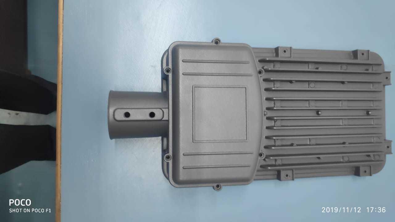 70-100 Watt Street Light Housing Frame Model