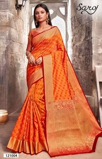 Rapier silk saree