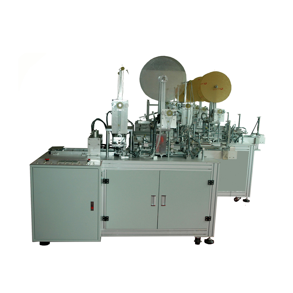 Three layer disposable face mask production machine
