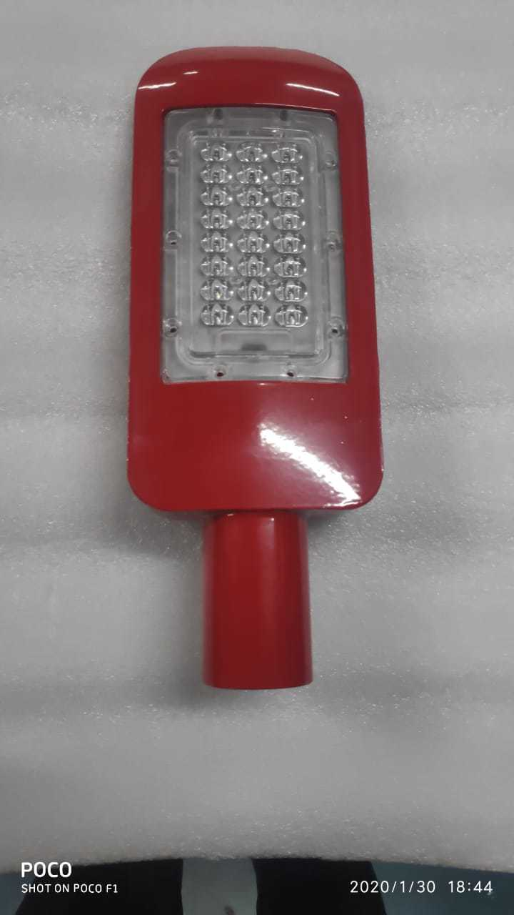 24 Watt Street Light Lens Model Housing