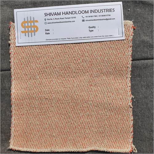 Natural Plus Color Twill Weave Yarn Fabric