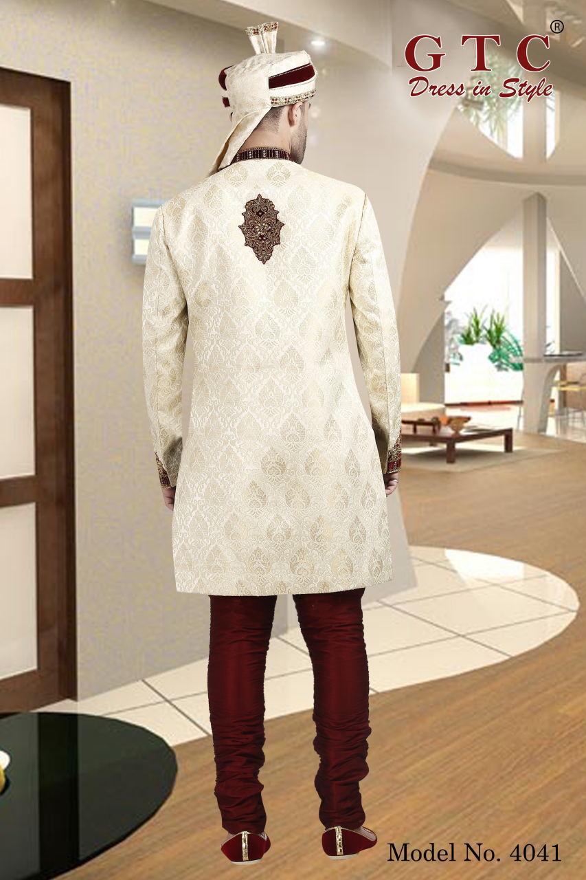 4041 Exclusive Wedding Sherwani