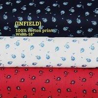 Infield 100% cotton print