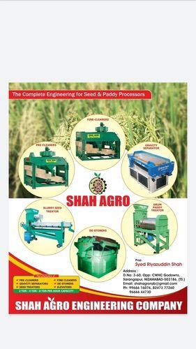 Seeds Cleanig and Processing Machine