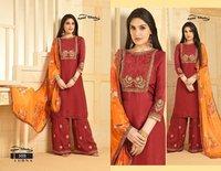 Banarasi Duppata Dress