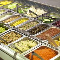 Bain Marie Salad Bar