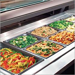 Commercial Bain Marie Salad Bar