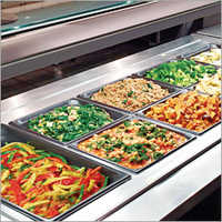 Commercial Bain Marie Salad Bar