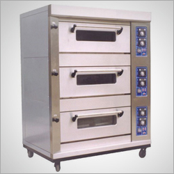Stainless Steel 3 Deck Baking Oven