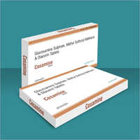 Glucosamine Sulphate Methyl Sulfonyl Methane And Diacerin Tablets