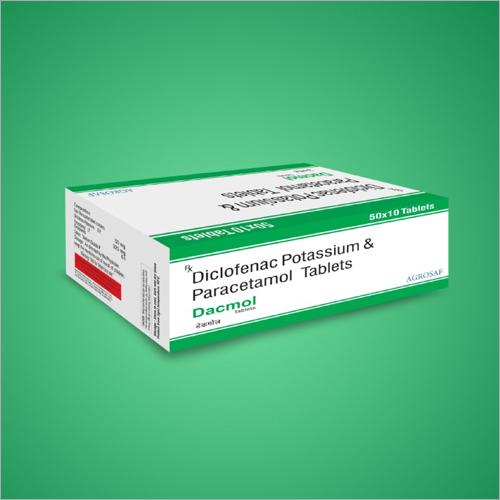 Diclofenac Potassium And Paracetamol Tablets