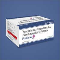 Aceclofenac Paracetamol And Serratiopeptidase Tablets