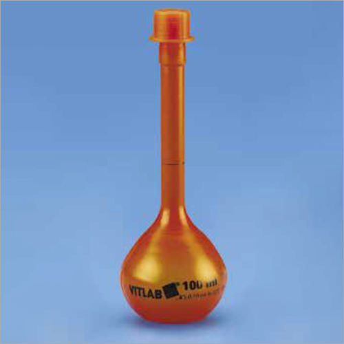Amber Volumetric Flask