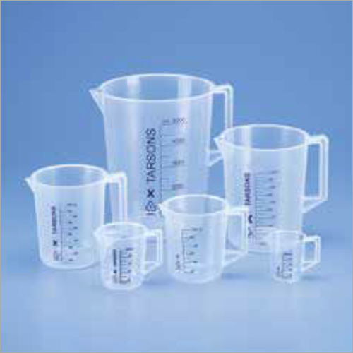 Laboratory Measuring Beaker with Handle