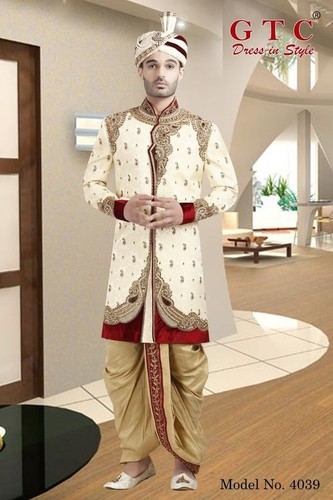 4039 EXCLUSIVE WEDDING SHERWANI
