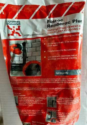 Fosroc Renderoc Plug Concrete Repair Price In Pune Fosroc Renderoc Plug Concrete Repair Manufacturer