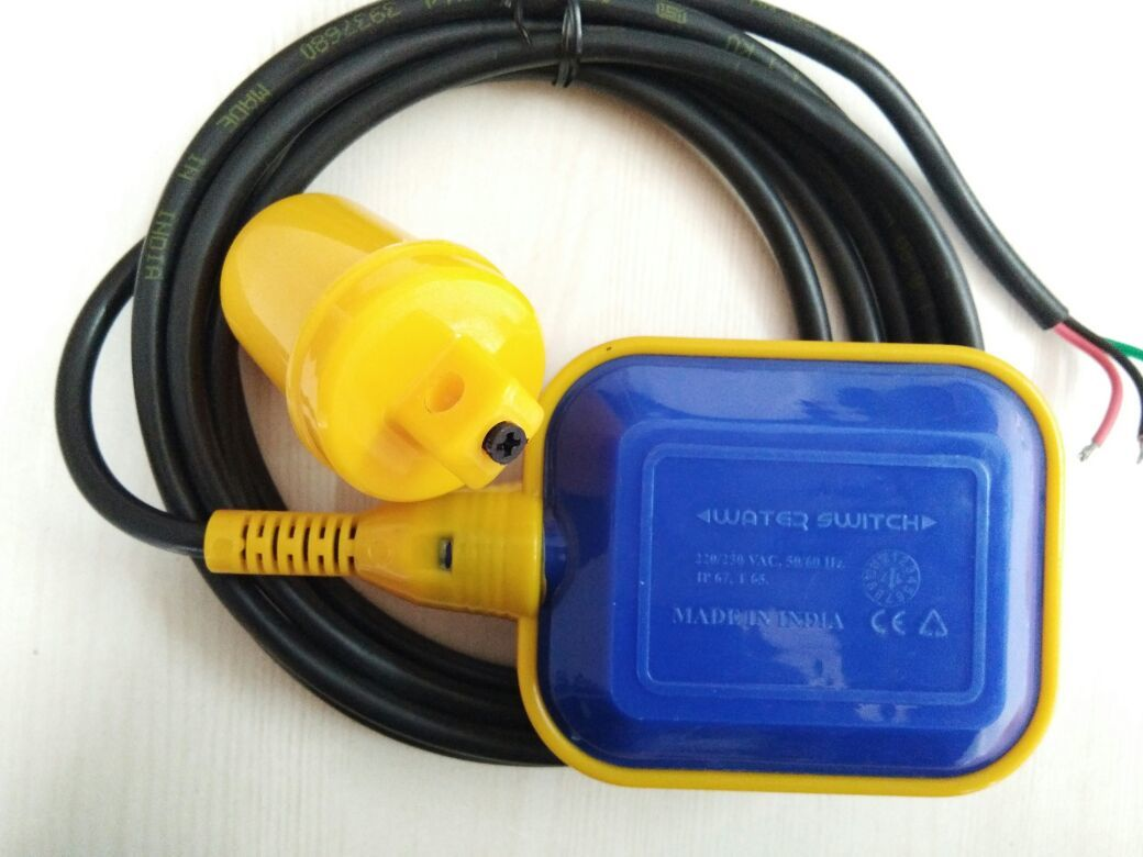 Blue And Black Float Switch