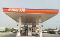 Indian Oil Petrol Pump Canopy