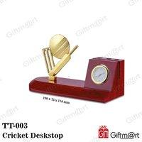 Cricket Deskstop with Clock