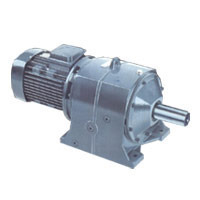 Industrial Helical Worm Geared Motor