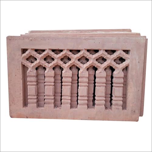 Agra Red Sandstone Jali