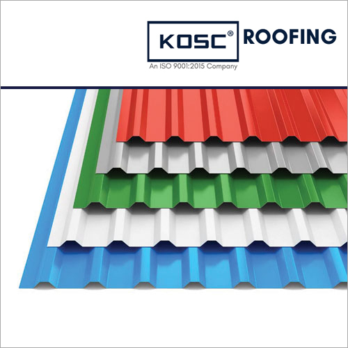 Trapezoidal Profile Roofing Sheet